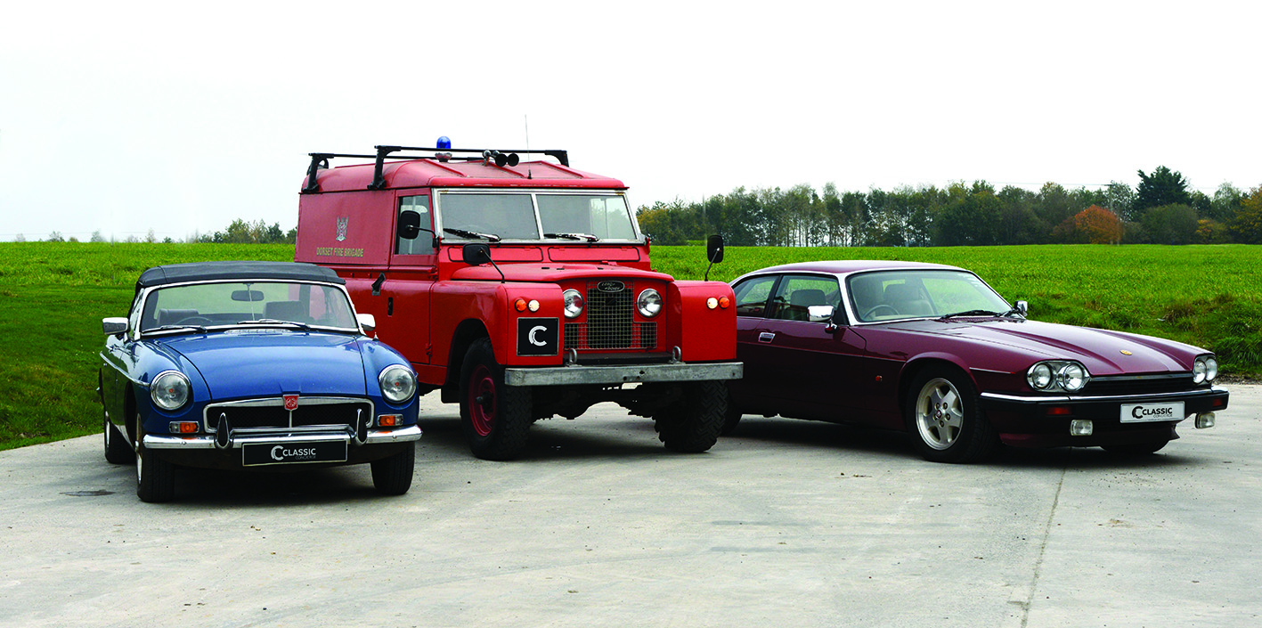 Classic Cars stored in Oxfordshire
